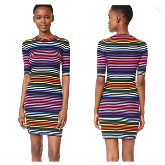 f1fc14ceeae Marc Jacobs rainbow sweater dress size large. M 5b2fd6189539f7f15b2aa976